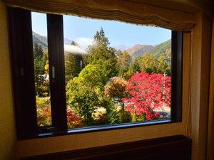 【庭側確約!】部屋から眺める「高原の秋景色」宿泊プラン画像その1